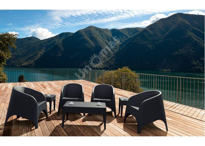 Аруба Сиеста кресло 804 тёмно-серое, Пляж и сад, Уличная мебель, Стулья и кресла, Стоимость 9870 рублей., фото 4