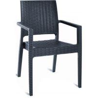 Ибица Сиеста кресло 810 тёмно-серое