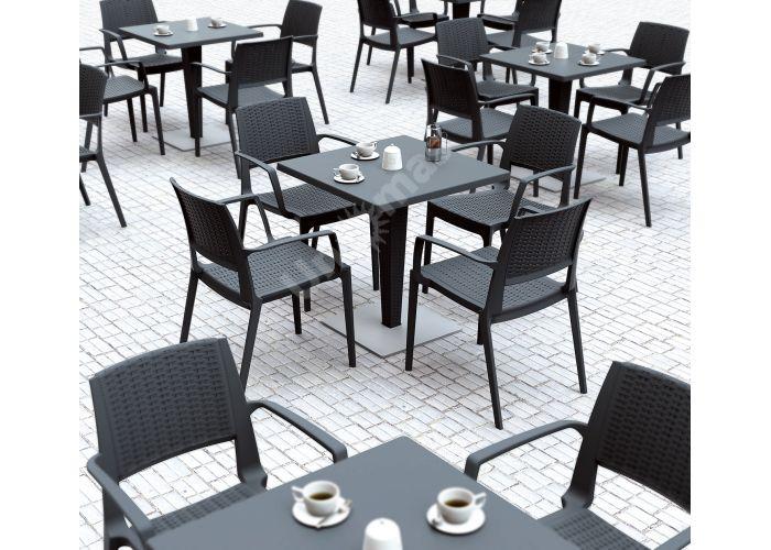 Капри Сиеста кресло 820 тёмно-серое, Пляж и сад, Уличная мебель, Стулья и кресла, Стоимость 5190 рублей., фото 2