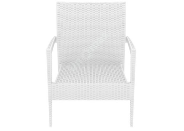 Майами Сиеста кресло 850 белое, Пляж и сад, Уличная мебель, Стулья и кресла, Стоимость 11385 рублей.