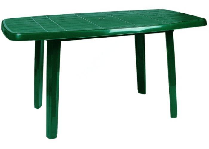 Сиеста стол 187 80х140 зеленый, Пляж и сад, Уличная мебель, Столы, Стоимость 5085 рублей.