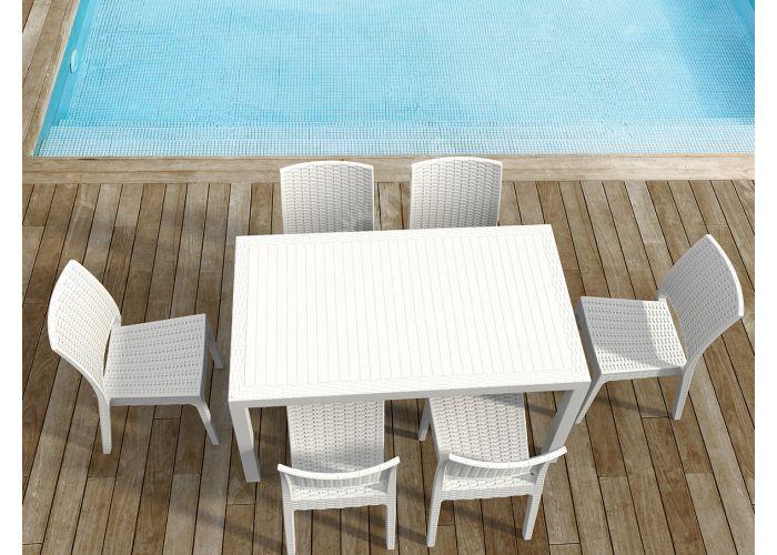 Флорида Сиеста стул 816 белый, Пляж и сад, Уличная мебель, Стулья и кресла, Стоимость 4935 рублей., фото 3