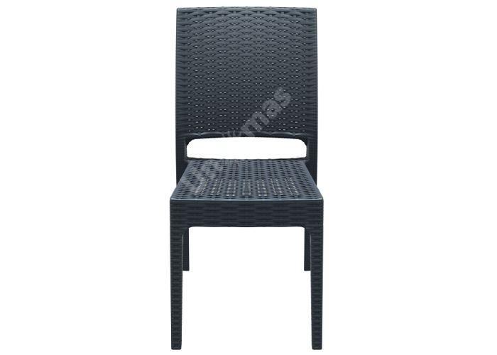 Флорида Сиеста стул 816 тёмно-серый, Пляж и сад, Уличная мебель, Стулья и кресла, Стоимость 4935 рублей.