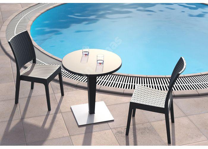 Флорида Сиеста стул 816 тёмно-серый, Пляж и сад, Уличная мебель, Стулья и кресла, Стоимость 4935 рублей., фото 3