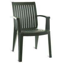 Ализе Пластиковое кресло зеленое