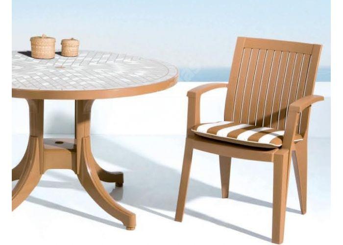 Ализе Пластиковое кресло зеленое, Пляж и сад, Уличная мебель, Стулья и кресла, Стоимость 2460 рублей., фото 2