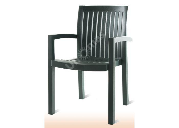 Нета Пластиковое кресло зеленое, Пляж и сад, Уличная мебель, Стулья и кресла, Стоимость 3015 рублей.