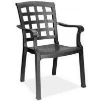 Паша Пластиковое кресло черное