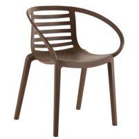 Мамбо Пластиковое кресло коричневое