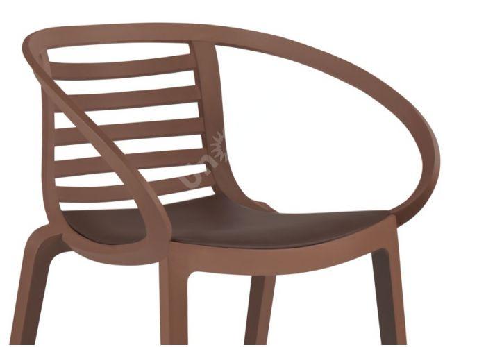 Мамбо Пластиковое кресло коричневое, Пляж и сад, Уличная мебель, Стулья и кресла, Стоимость 7665 рублей., фото 2