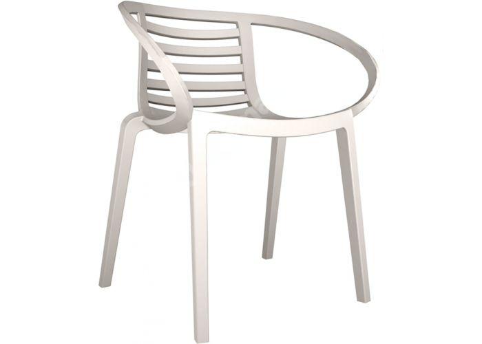 Мамбо Пластиковое кресло серое, Пляж и сад, Уличная мебель, Стулья и кресла, Стоимость 7665 рублей.