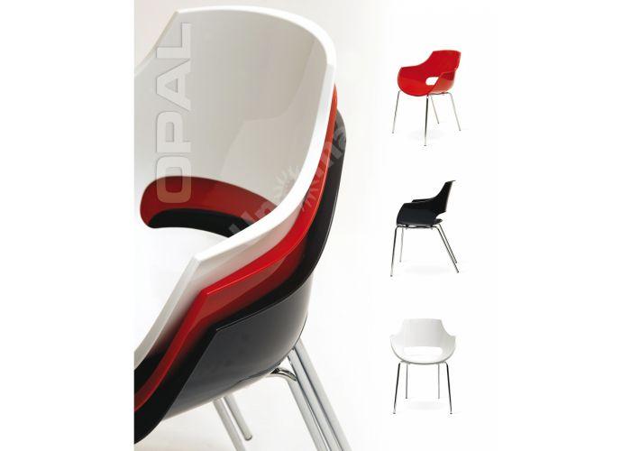 Опал Пластиковое кресло красное, Кухни, Стулья и табуреты, Пластиковые стулья, Стоимость 12300 рублей., фото 3