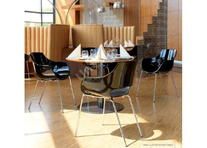 Опал Пластиковое кресло черное, Кухни, Стулья и табуреты, Пластиковые стулья, Стоимость 11880 рублей., фото 3