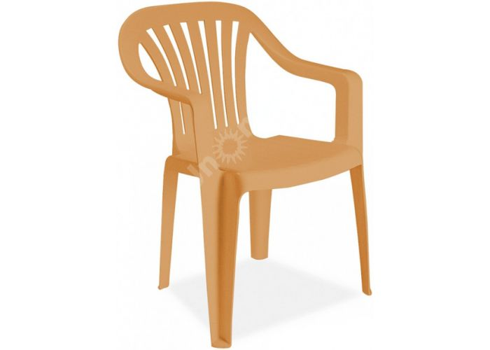 Тропик Пластиковое кресло тиковое, Пляж и сад, Уличная мебель, Стулья и кресла, Стоимость 1665 рублей.