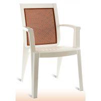 Сапфир Пластиковое кресло белое