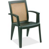 Сапфир Пластиковое кресло зеленое