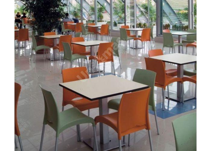 Витал-С Пластиковый стул оранжевый, Кухни, Стулья и табуреты, Пластиковые стулья, Стоимость 3960 рублей., фото 2