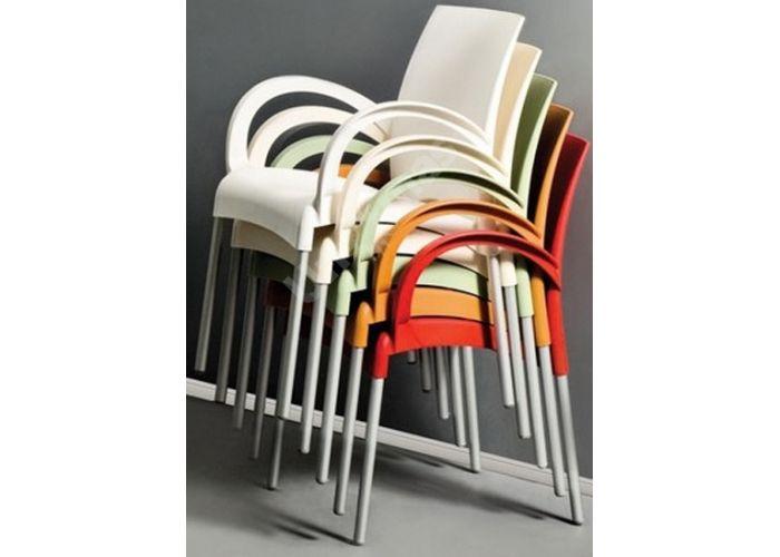 Витал-К Пластиковое кресло желтое, Кухни, Стулья и табуреты, Пластиковые стулья, Стоимость 4650 рублей., фото 3