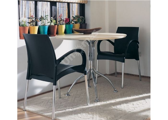 Витал-К Пластиковое кресло желтое, Кухни, Стулья и табуреты, Пластиковые стулья, Стоимость 4650 рублей., фото 2