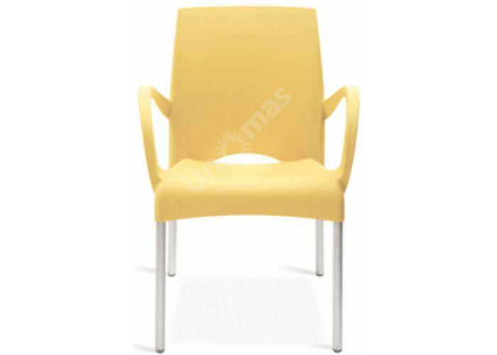 Витал-К Пластиковое кресло желтое, Кухни, Стулья и табуреты, Пластиковые стулья, Стоимость 4650 рублей.