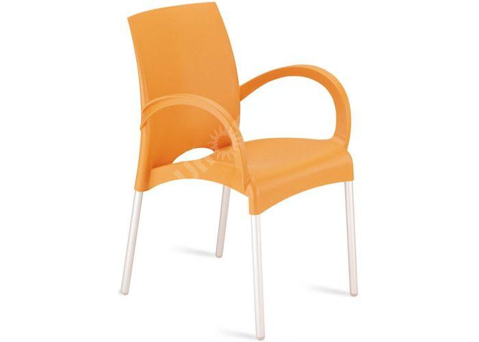 Витал-К Пластиковое кресло оранжевое, Кухни, Стулья и табуреты, Пластиковые стулья, Стоимость 4500 рублей.