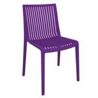 Кул Пластиковый стул пурпурный