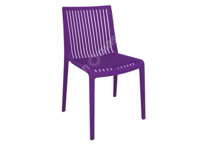 Кул Пластиковый стул пурпурный, Пляж и сад, Уличная мебель, Стулья и кресла, Стоимость 6180 рублей.