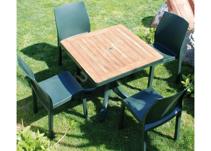 Юмми Пластиковый стул зеленый, Пляж и сад, Уличная мебель, Стулья и кресла, Стоимость 3435 рублей., фото 2
