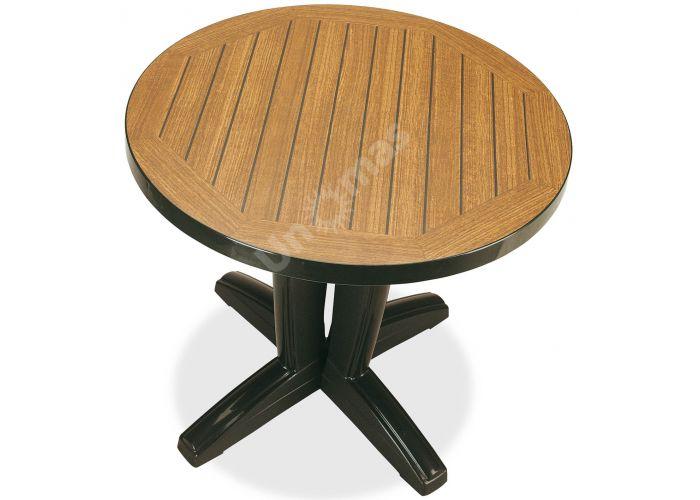 Браво Пластиковый стол Д80 зеленый дерево, Пляж и сад, Уличная мебель, Столы, Стоимость 8460 рублей.
