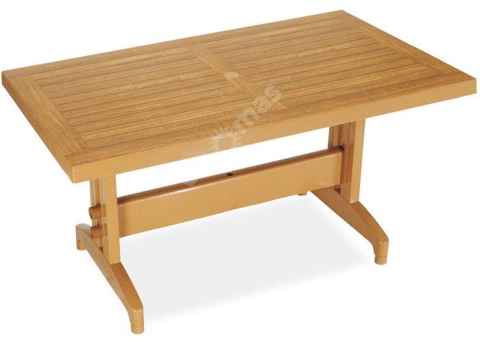 Дива Пластиковый стол 70*120 тиковый дерево, Пляж и сад, Уличная мебель, Столы, Стоимость 13995 рублей.