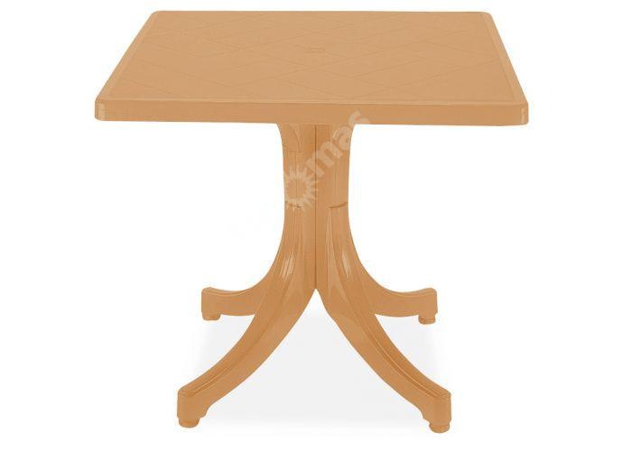 Фавори Пластиковый стол 80*80 тик, Пляж и сад, Уличная мебель, Столы, Стоимость 7140 рублей.