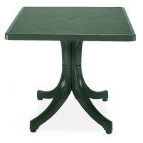 Фавори Пластиковый стол 80*80 зеленый