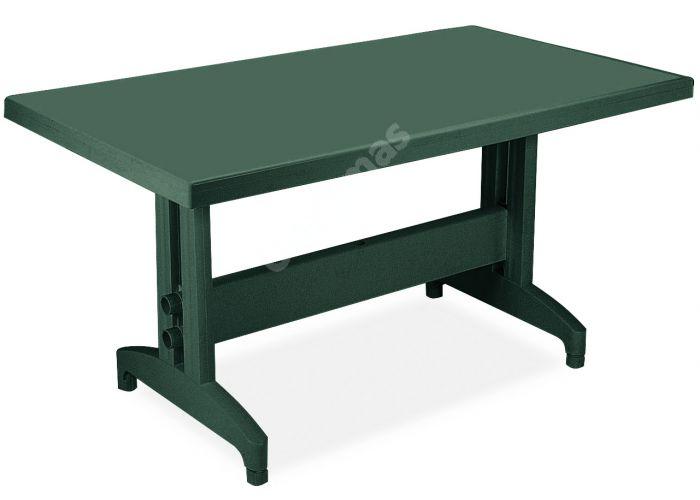 Престиж Пластиковый стол 80*140 зеленый, Пляж и сад, Уличная мебель, Столы, Стоимость 9690 рублей.
