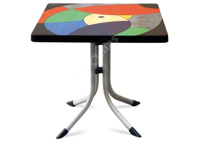 Танго Пластиковый стол 80*80 мультицвет, Пляж и сад, Уличная мебель, Столы, Стоимость 14790 рублей.