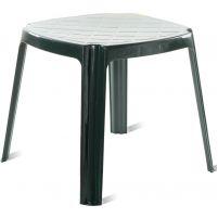 Рояль Пластиковый стол 50*50 зеленый
