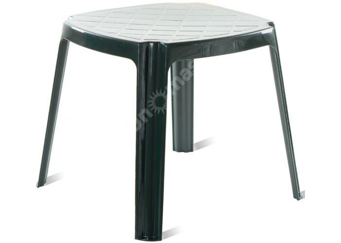 Рояль Пластиковый стол 50*50 зеленый, Пляж и сад, Пляжная мебель, Столики для шезлонгов, Стоимость 1545 рублей.