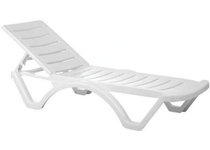 Мира шезлонг белый, Пляж и сад, Пляжная мебель, Шезлонги , Стоимость 10560 рублей.