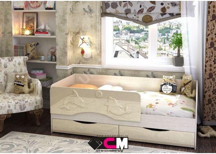 Бэмби 1832х832х640 КР 813, Детская мебель, Детские кровати, Стоимость 7175 рублей.