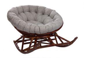 MI-005 Кресло-качалка Papasan Rocker Chair с подушкой