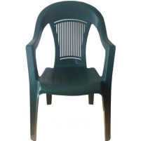 Кресло Венеция темно-зеленое