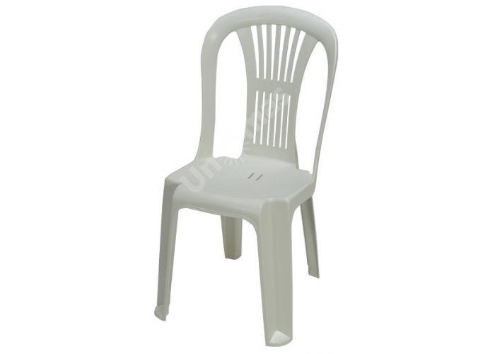 Стул пластиковый CT004-A Karanfi белый, Пляж и сад, Уличная мебель, Стулья и кресла, Стоимость 1008 рублей.