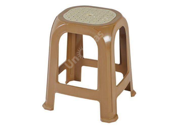 Табурет пластиковый CT040 Sebboy, Пляж и сад, Уличная мебель, Стулья и кресла, Стоимость 442 рублей.