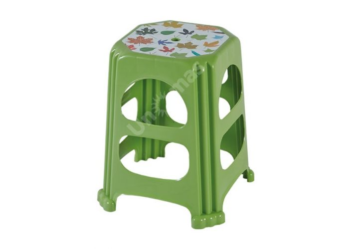 Табурет пластиковый CT041 Nilufer, Пляж и сад, Уличная мебель, Стулья и кресла, Стоимость 596 рублей.