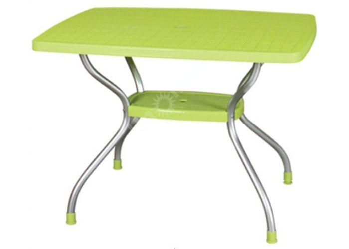 Стол с алюм ножками HD-320 Vega, Пляж и сад, Уличная мебель, Столы, Стоимость 6268 рублей.