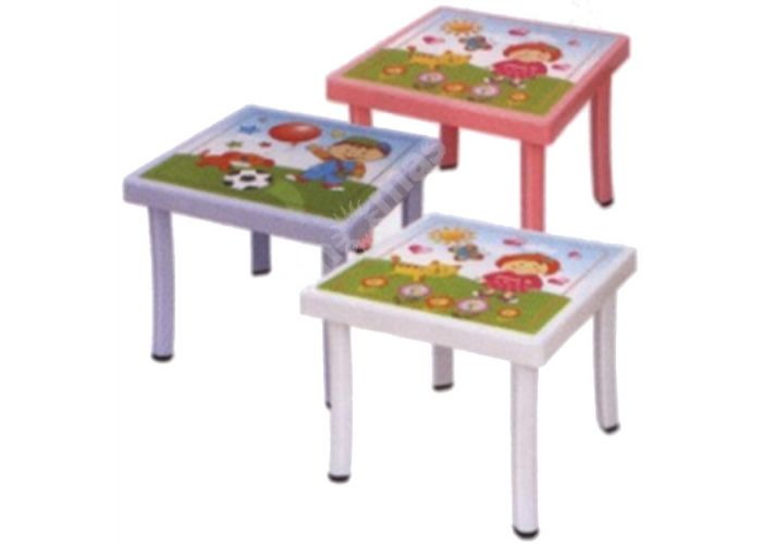 Стол пластиковый детский CM-305 Decor, Пляж и сад, Уличная мебель, Столы, Стоимость 1518 рублей.