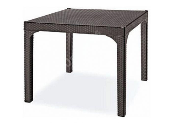 Стол пластиковый HM-710 Comfort, Пляж и сад, Уличная мебель, Столы, Стоимость 15795 рублей.
