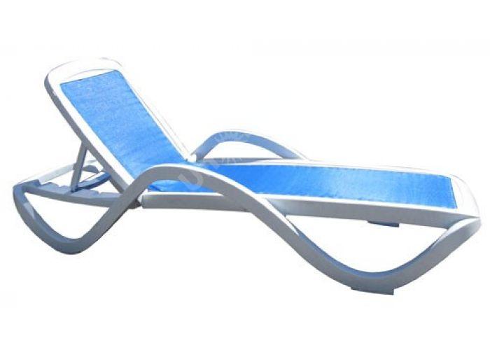 Шезлонг пластиковый HZ-120 Capri, Пляж и сад, Пляжная мебель, Шезлонги , Стоимость 11196 рублей.