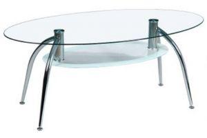 JJ 7014A хром/стекло 1100*600*425 (8/6 мм)
