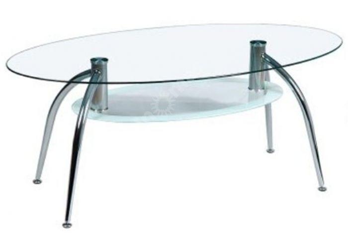 JJ 7014A хром/стекло 1100*600*425 (8/6 мм), Гостиные, Журнальные столики, Стоимость 4950 рублей.