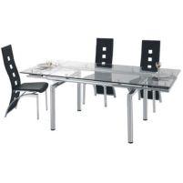 628 Стол обеденный раскладной 850(+400)*850